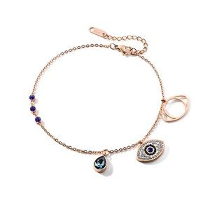 Jewelry - Blue stone Evil Eye Anklet Ankle Bracelet